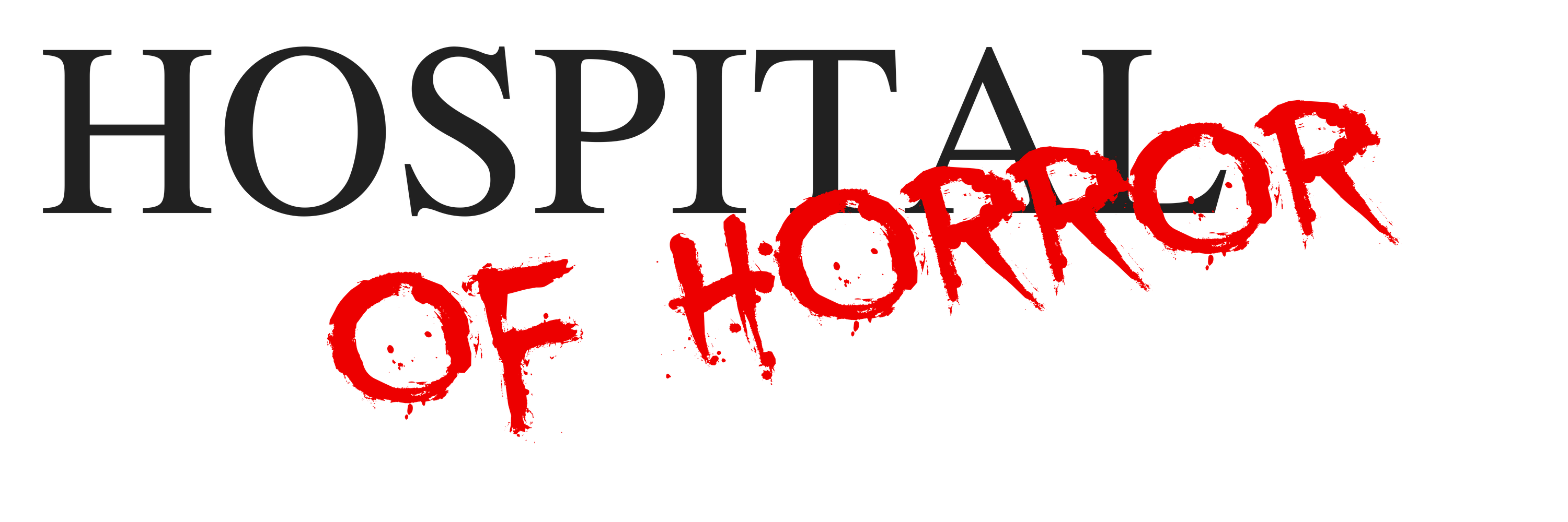 Hospital of Horror Logo - trans background